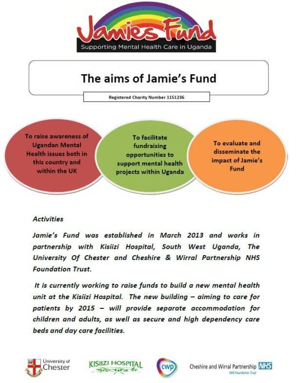 jamie's fund poster