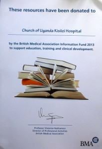 bma book donation certificate