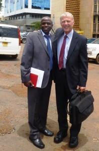 Moses Mugume & Ian Spillman