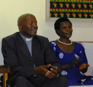 Our new Chaplain, Rev. Joshua & Mrs. Jocelyn Bwebale