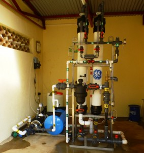 water filter unit